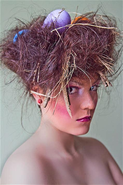 parrot hairstyle birds nest hair mua stacey payne photographer devin