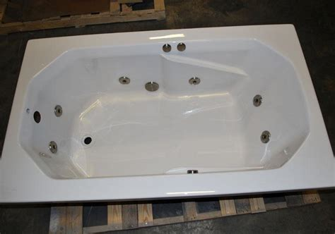 water jet bathtubs 3660 drop in whirlpool jetted bath tub 8 water jets