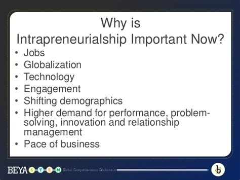 Depaul Mba Finance Concentration by Own The Business You Are In Intrapreneurship Strategies