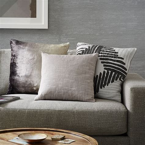 abstract diamond knit pillow cover west elm