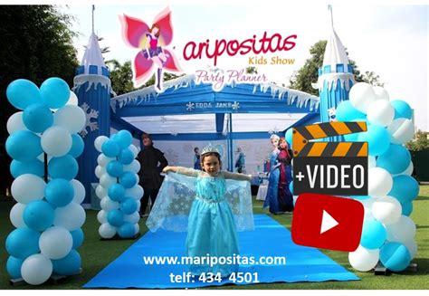 cumplea 241 os frozen con globos y regala ilusiones revista de decoracin infantil decoracion de frozen infantil lima