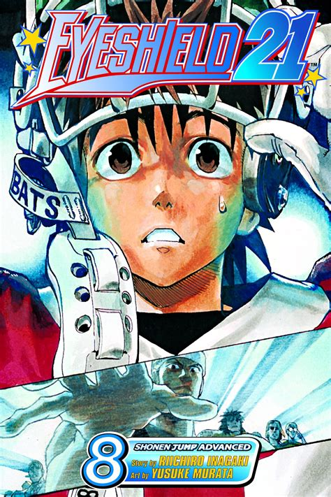 Kaos Eyeshield 21 1 eyeshield 21 vol 8 book by riichiro inagaki official