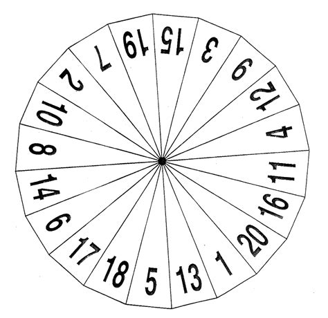 printable spinner with numbers 1 10 1 9 spinner template