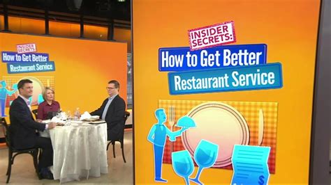 how to get a service waiter how to get better service at restaurants