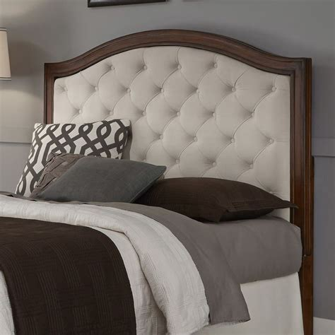 camelback upholstered headboard details about upholstered headboard mahogany cherry wood