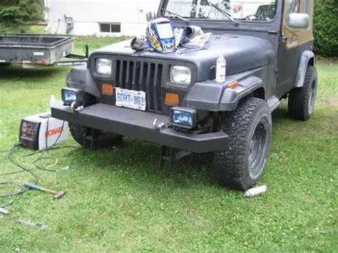 homemade jeep bumper homemade jeep bumper youtube