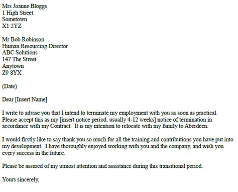 cover letter for relocating to another state relocate relocation resignation letter exles forums