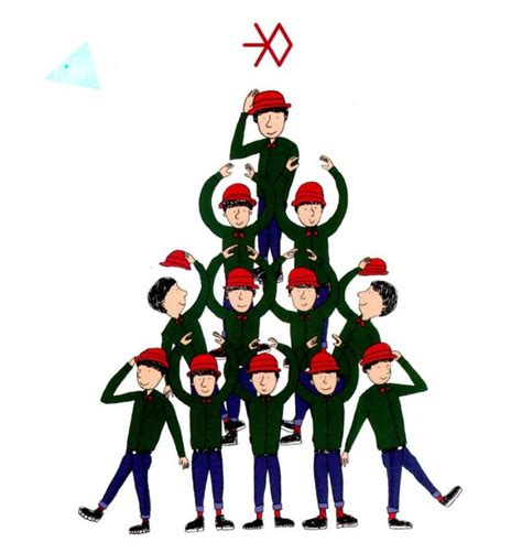 exo winter special album miracles in december korean exo miracles in december winter special album exoxoxoexo