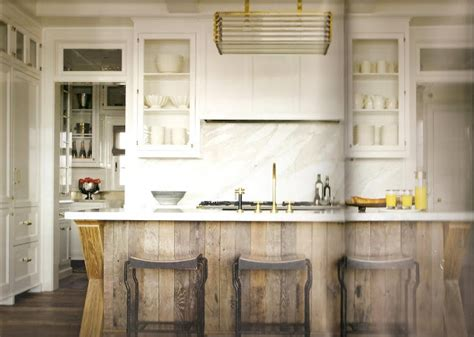 Barnwood Kitchen Island Barnwood Island S Farmhouse Wood Remodel It Pinterest