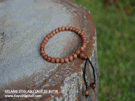 Harga Gelang Asli jual gelang tasbih kayu stigi asli laut darat hitam coklat