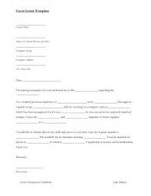 Sample Cover Letter For Job Application Word Format