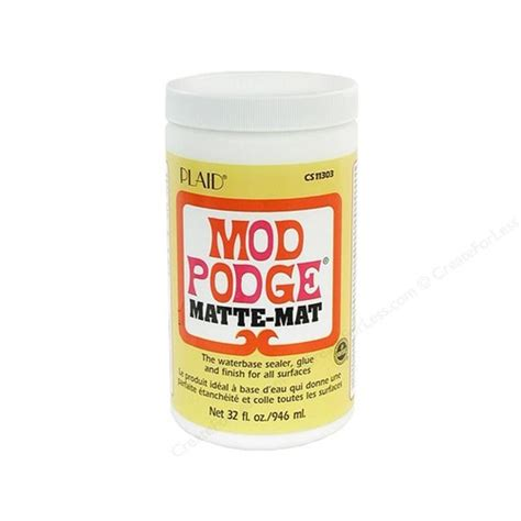 mod podge matte finish mod podge matte 946ml