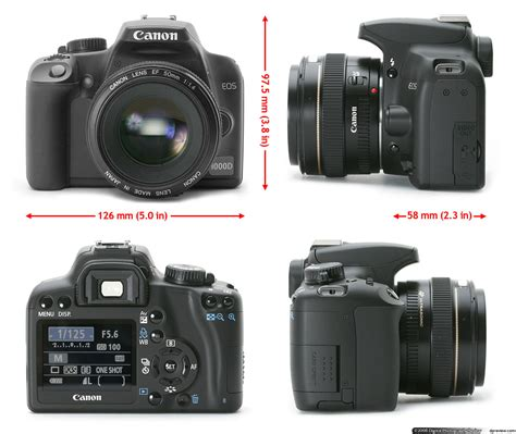 Kamera Canon Dslr 1000d Canon Eos 1000d Rebel Xs F Review Digital