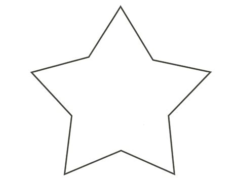 free coloring pages of templates for stars