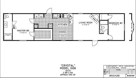 16x70 mobile home floor plans floor plans resolution