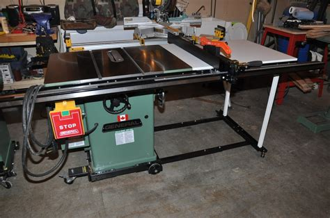 excalibur sliding table saw fence review fence by steve lumberjocks com