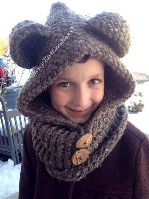 hooded cowl knitting pattern cozy hooded cowl loom knit pattern by chewytart
