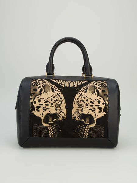 Roberto Cavalli Tote by Roberto Cavalli Leopard Print Tote In Black Leopard Lyst