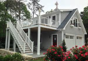 detached garage with loft detached garage with deck loft traditional exterior