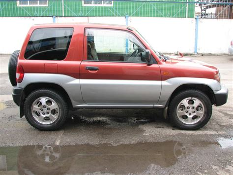 pajero mitsubishi 1998 used 1998 mitsubishi pajero io photos 1800cc gasoline