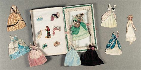 Handmade Paper Dolls - paper dolls 1790 1940 the collection of shirley fischer