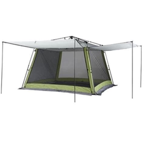 coleman screen house instant up with awnings auction 0055