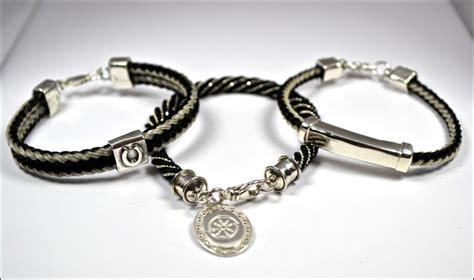 The Horsehair Studio   Horsehair Bracelets by Erica Avratin