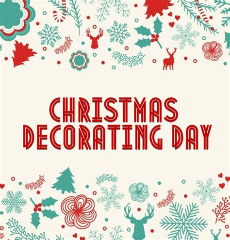 upcoming events christmas decorating day minnewaska church