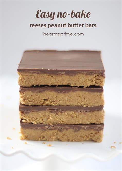 peanut butter bars with chocolate chips melted on top easy no bake peanut butter bars trusper