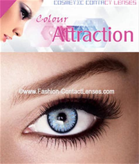 Light Blue Contacts by Light Sapphire Color Attraction Contact Lenses Change Your