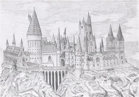 coloring pages of hogwarts castle hogwarts castle by skyicok on deviantart