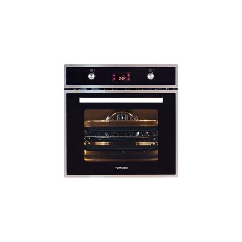 Oven Gas Digital tornado gas oven 60 cm with gas grill stainless digital ov60gdffs 1 cairo sales stores