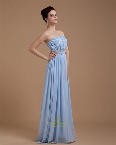 light blue strapless top light blue strapless sweetheart crop top prom dress for