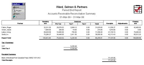 accounts payable reconciliation template reports
