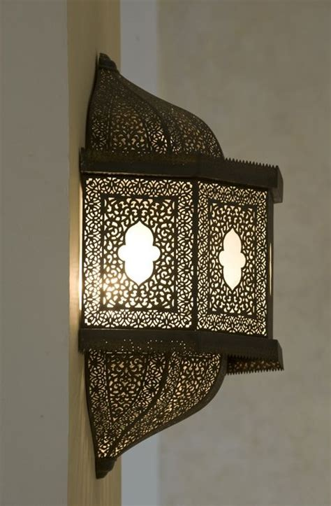 Moroccan Wall Sconce Arabesque Light Arabesque Islamic Design Places And Arabesque