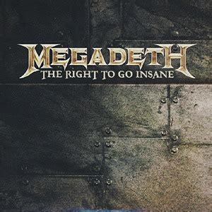 megadeth endgame lyrics megadeth the right to go insane lyrics genius lyrics