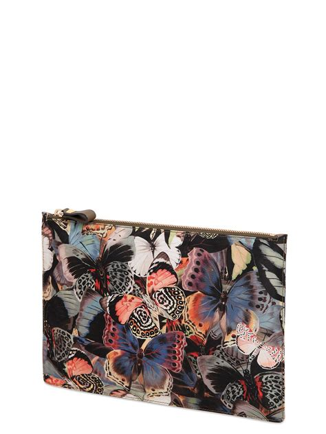 Costume National Medium Signature Butterfly Bag by Valentino Butterfly Printed Pouch In Multicolor Lyst