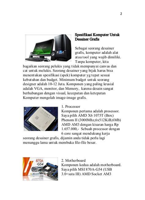 Buku Arsitektur Komputer syarifudin buku spesifikasi komputer grafis