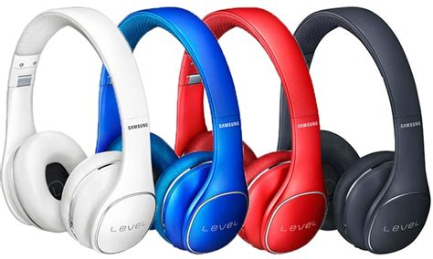 samsung level headphones samsung level on wireless bluetooth headphones groupon