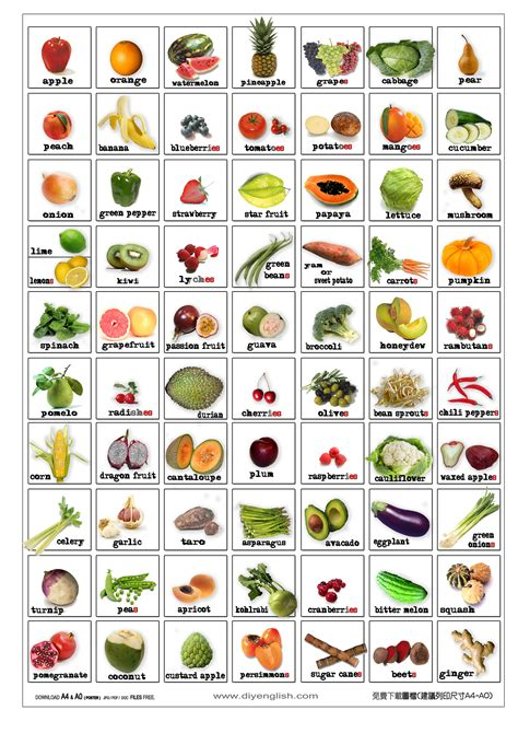 a z name that fruit and vegetable books free printable fruit vegetable bingo free flash