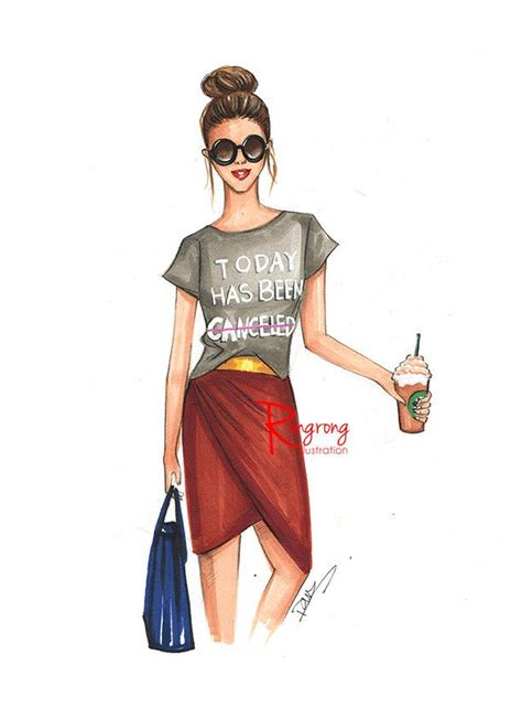 fashion sketch fashion fashion illustration chic wall