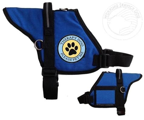 therapy vest padded therapy vest with identification badge holder