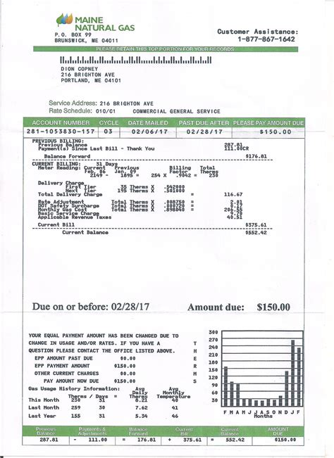 Fake Utility Bill Template Images Template Design Ideas Electric Bill Template