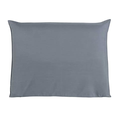 140cm headboard cover in blue soft maisons du monde