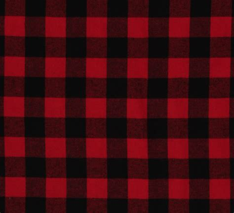 plaid pattern history buffalo plaid 1 25 quot buffalo check red black woven cotton