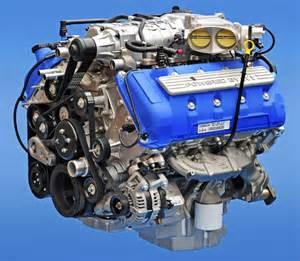 5 8 L Ford Engine Inside The 2013 Gt 500 5 8 Liter Engine