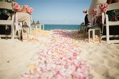 Bahamas Beach Weddings: Michaela   Ryan's Chic Vintage Wedding