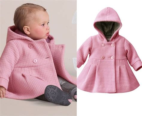 winter coats for baby new baby toddler winter horn button hooded