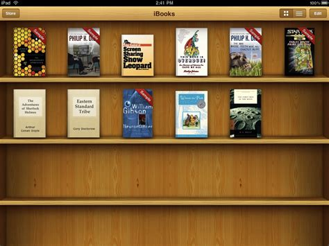 reading books on the ibooks kindle and goodreader