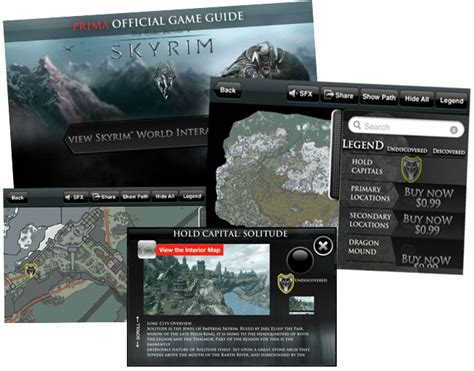 elder scrolls v skyrim atlas prima official guide books the elder scrolls v skyrim official prima world